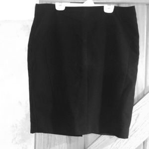 Black Pencil Skirt-barely worn